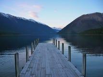 Nelson Lakes in Neuseeland lizenzfreie stockfotografie
