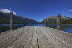 Nelson Lakes, Nya Zeeland arkivbilder