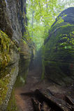 Nelson' Ledges State Park Royalty Free Stock Photos