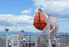 Nelson Lifeboat Service Nya Zeeland Arkivfoto