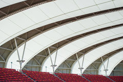 Nelson Mandela Bay Stadium roof South Africa. Roof architecture of the Nelson Mandela Stadium in Port Elizabeth South Africa Royalty Free Stock Photos