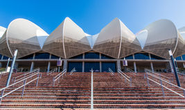 Nelson Mandela Bay Stadium South África Imagens de Stock Royalty Free