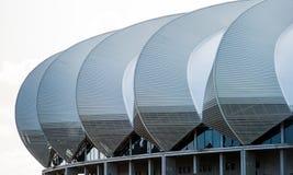 Nelson Mandela Bay Stadium South Africa. Roof architecture of the Nelson Mandela Stadium in Port Elizabeth South Africa Stock Photos