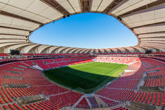 Nelson Mandela Bay Stadium South Afrika Royaltyfria Foton