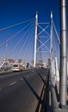 Nelson Mandela Bridge. Bridge in the shot, is that of the Nelson Mandela Bridge, situated in downtown, CBD, Johannesburg, South Africa Royalty Free Stock Photo