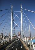Nelson Mandela Bridge fotografía de archivo libre de regalías