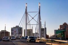 Nelson Mandela Bridge in Braamfontein Johannesburg Lizenzfreie Stockfotografie