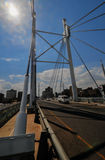 Nelson Mandela Bridge, Johannesburg, SA Stock Images