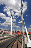 Nelson Mandela Bridge, Johannesburg, SA Royalty Free Stock Photos