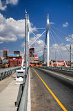Nelson Mandela Bridge - Johannesburg, South Africa Royalty Free Stock Photo