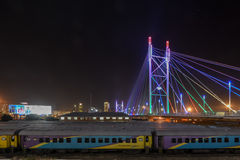 Nelson Mandela Bridge - Johannesburg, South Africa Stock Image