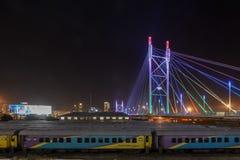 Nelson Mandela Bridge - Johannesburg, South Africa Stock Image