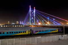 Nelson Mandela Bridge - Johannesburg, South Africa Royalty Free Stock Photography