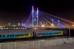 Nelson Mandela Bridge - Johannesburg, South Africa Royalty Free Stock Photography