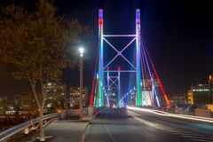 Nelson Mandela Bridge - Johannesburg, South Africa Stock Photo