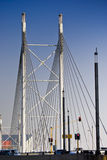 Nelson Mandela Bridge - Suspension Bridge Royalty Free Stock Photos