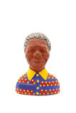 Nelson Mandela fridge magnet Stock Images