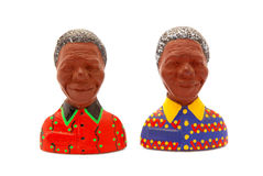 Nelson Mandela fridge magnets Royalty Free Stock Photography