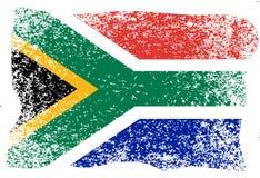 Nelson Mandela International Day. 18 July. Flag of the Republic of South Africa. Grunge background. Nelson Mandela International Day. 18 July. The concept of a stock illustration