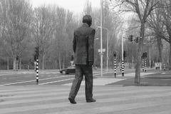 Nelson Mandela monument Arkivbild