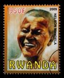 Nelson Mandela Postage Stamp fotos de archivo