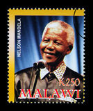 Nelson Mandela Postage Stamp Stock Photography