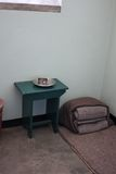 Nelson Mandela's prison Cell. Of Robben Island Prison in Cape Town, South Africa, Africa Royalty Free Stock Photography