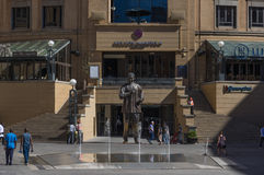 Nelson Mandela Square Stock Afbeeldingen