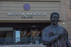 Nelson Mandela Square Royalty Free Stock Images