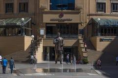 Nelson Mandela Square Stock Images