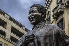 Nelson Mandela. Statue in Johannesburg Stock Image