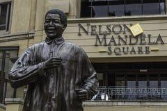 Nelson Mandela. Statue in Johannesburg Royalty Free Stock Photos