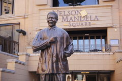Nelson Mandela Statue Stock Photos