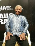 Nelson Mandela wax statue Royalty Free Stock Photos