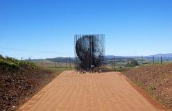 Nelson Mandela zdobycza miejsce W Howick, Natal Obraz Royalty Free