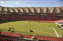 Nelson- Mandelaschacht VielzweckStaduim Lizenzfreie Stockfotografie