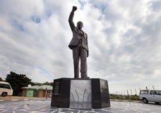 Nelson- Mandelastatue Stockfoto