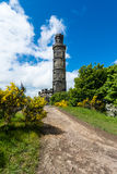 Nelson monument on Calton Hill Edinburgh Royalty Free Stock Photography