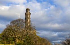Nelson Monument in Edinburgh Stock Photo