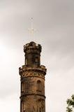 Nelson Monument i Edinburg Royaltyfri Bild