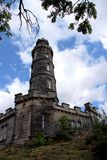 Nelson Monument sur la colline de Calton photographie stock