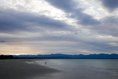 Nelson New Zealand. South Island Ocean Side Royalty Free Stock Photo