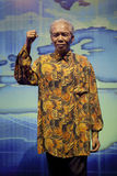 Nelson Rolihlahla Mandela'S WAX FIGURE Royalty Free Stock Photos