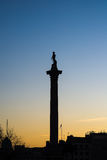 Nelson's column Stock Photo