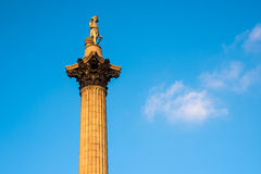 Nelson's column Stock Photos