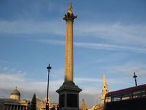 Nelson's Column Stock Images