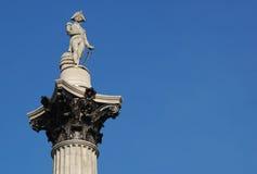 Nelson's column Stock Image