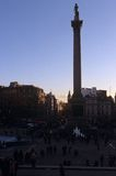 Nelson's Column, London Stock Photo