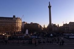 Nelson's Column, London Royalty Free Stock Image