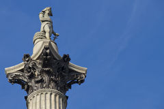 Nelson's Column, London Royalty Free Stock Photos